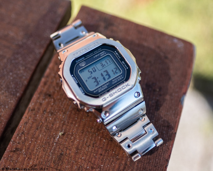 Casio G-Shock GMW-B5000D-1 on a Table
