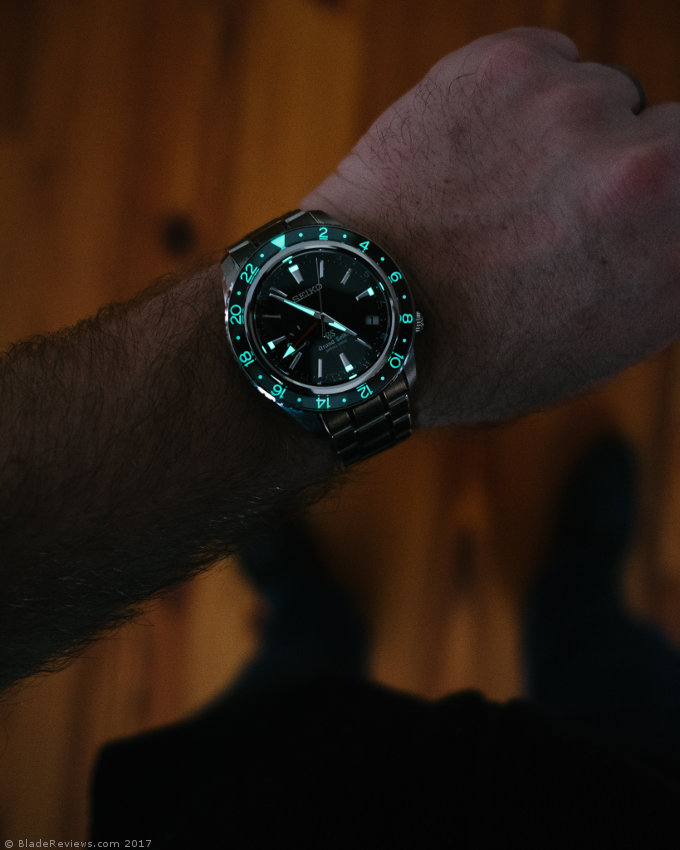 Grand Seiko SBGE001 Lume Shot