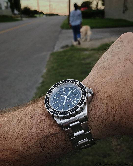 Marathon GSAR on the Wrist
